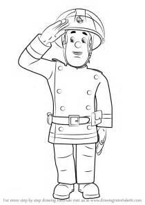 learn draw fireman sam fireman sam step step drawing tutorials