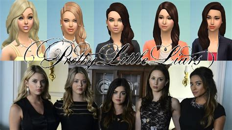actor sims 4 cast of pretty little liars best celebrity sims of the