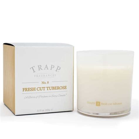 Trapp Candles Trapp Candles No 8 Fresh Cut Tuberose 8 75 Oz Poured Candle
