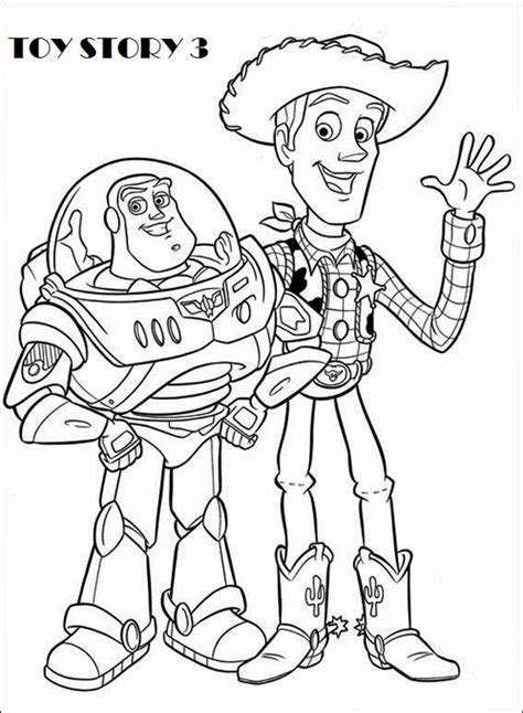 free printable coloring pages toy story 3 printable