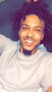 august alsina haircut name august alsina changes look debuts crazy hairstyle photos