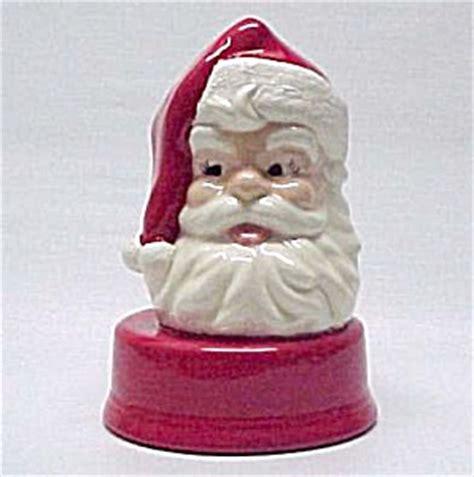 santa hat music box musical ceramic santa claus box at midwest emporium