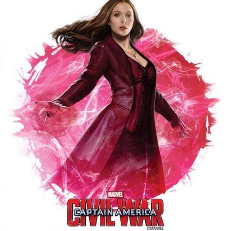 scarlet witch captain america civil war captain america 3 promo art gives detailed look at scarlet