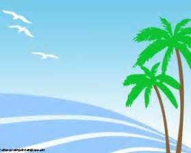 Summer Powerpoint Templates by Summer Palms Powerpoint Templates