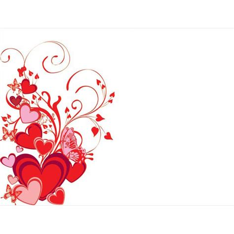 free valentines vectors free vector and butterfly floral curls design