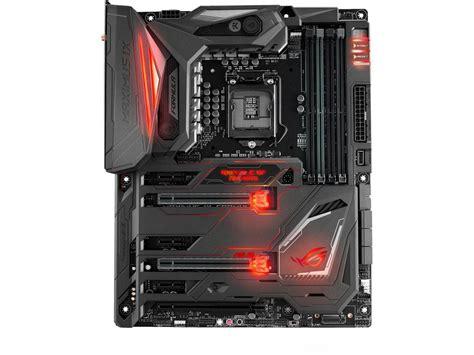 Mobo Intel Asus Motherboard Rog Maximus Ix Code asus z270 rog maximus ix formula motherboard videocardz net