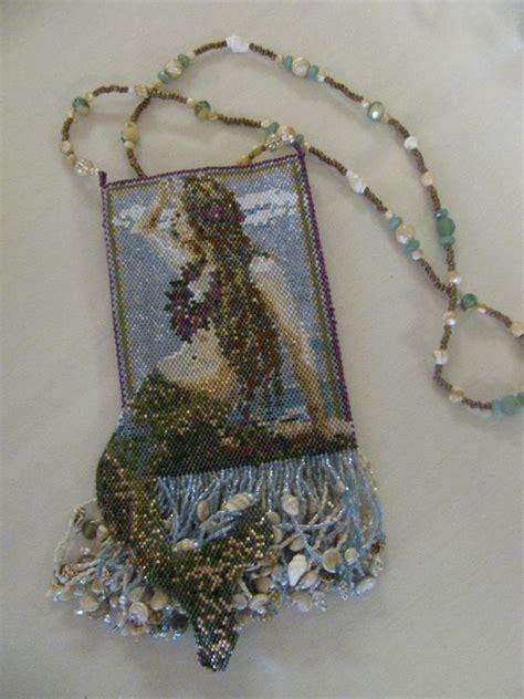 beaded amulet bag mermaids secrets from the sea