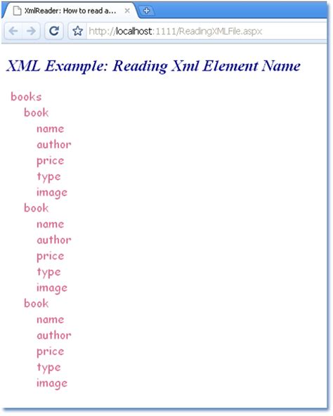 xml tutorial element attribute asp net xmlreader how to read and process xml file