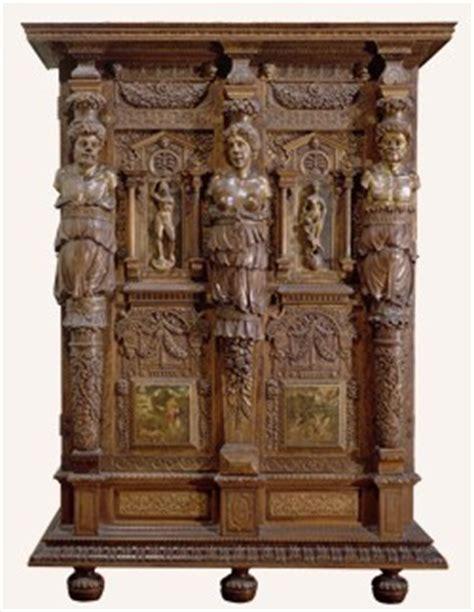etude des styles des meubles la renaissance