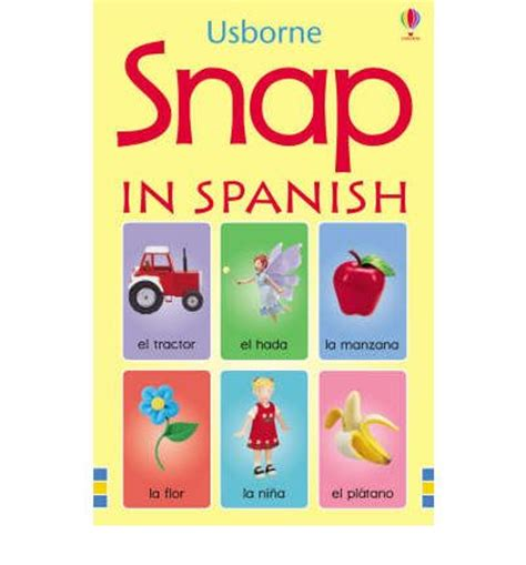 snap cards in spanish 9780746097274