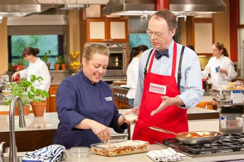 America S Test Kitchen by Host Christopher Kimball In The Test Kitchen With Cook