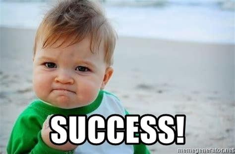 Success Baby Meme Generator - success fist pump baby meme generator
