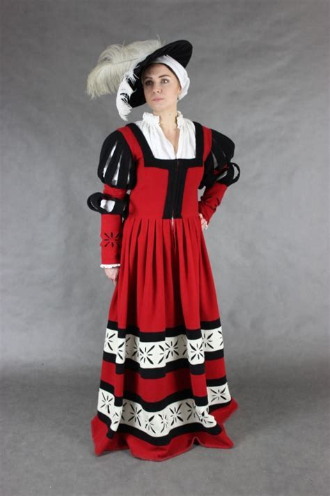 Landsknecht dress » 16th   17th Women's clothing