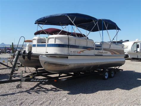 pontoon boats for sale in lake havasu crestliner 2485 lsi boats for sale in lake havasu city