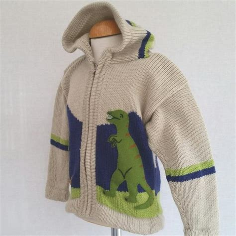 Jumper 1 Set Dino boy s dinosaur jumper in beige with a and zip front united ideas