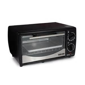 Better Chef Toaster Oven Better Chef 9 Liter Toaster Oven Broiler Black With