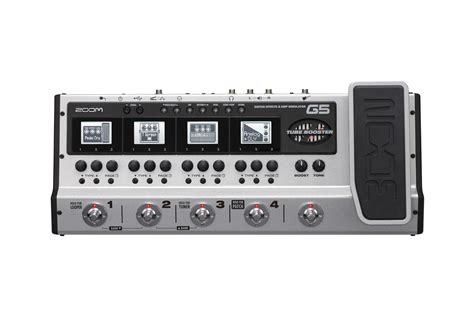 with zoom g5 guitar effects simulator pedal zoom