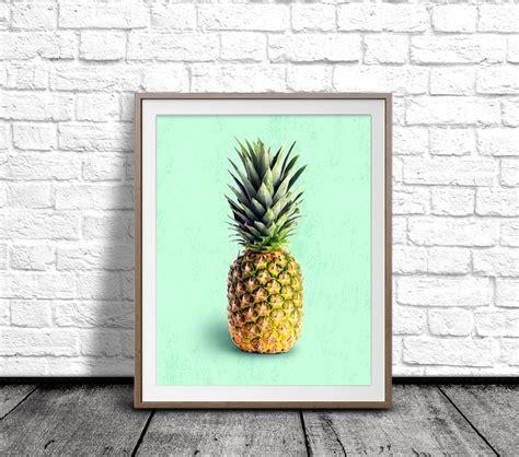 printable pineapple wall art pineapple wall art pineapple art print fruit poster