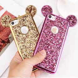 For Iphone 6 6s Luxury 3d Casing Bumper Cover Roses luxury 3d mickey mouse for iphone 6 6s 7 plus 5 5s 5se rhinestone glitter bling silicone