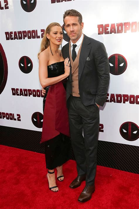deadpool 2 carpet premiere lively attend deadpool 2 premiere