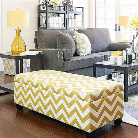 yellow bedroom bench 25 best ideas about yellow ottoman on pinterest what