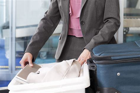 hand luggage rules government advice  restricted