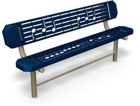 music bench music bench music independent play equipment