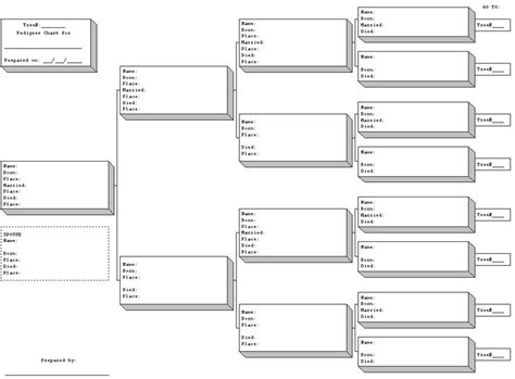 Blank Pedigree Forms Pedigree Chart Pinterest Charts And Pedigree Chart Free Rabbit Pedigree Template