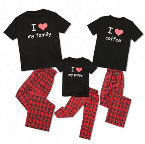 Kaos Ddb 3 Pj uk family matching pajamas set kid sleepwear nightwear ebay