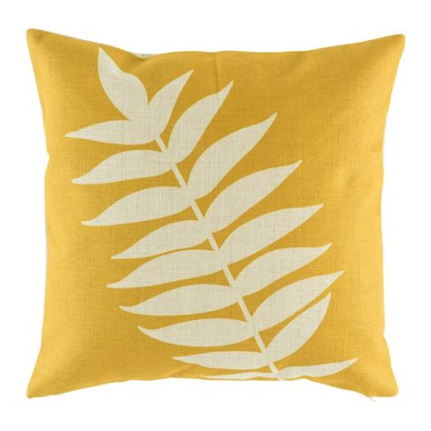 Cushion Cover For Sofa Buy Quorra Yellow Cushion Cover Online Simply Cushoins