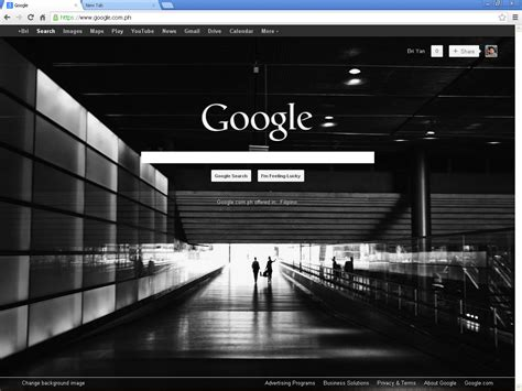 google wallpaper change how to change google browser background image howtoquick net