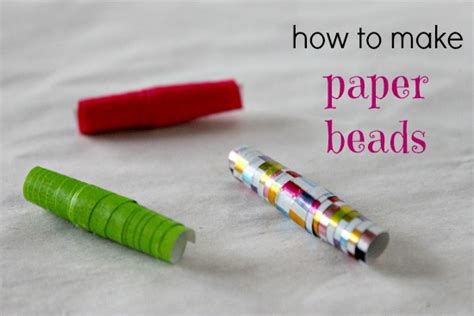 How To Make Jewellery From Paper - how to make paper
