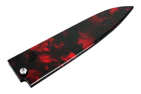 Red Kitchen Knives by 8 Inch