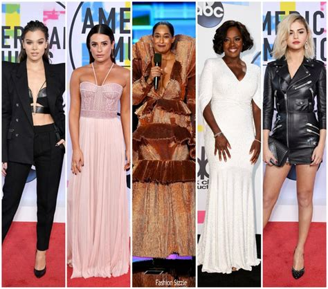 American Awards Best Dressed by 2017 American Awards Best Dressed Fashionsizzle
