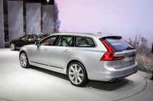 Volvo V 90 2016 Volvo V90 Prices Revealed Pictures And