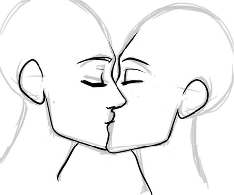 kiss tutorial drawing how i draw kisses foervraengd