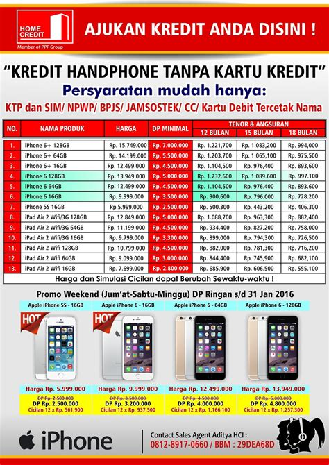 home credit area jabodetabek kredit hp murah kredit