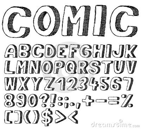 doodle font font doodle by adam matuška via dreamstime lunch