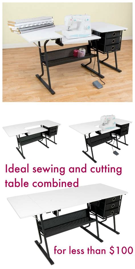1000 ideas about sewing tables on sewing desk