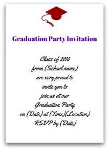 Invitation Letter Exercises The 25 Best Ideas About Graduation Invitation Wording On