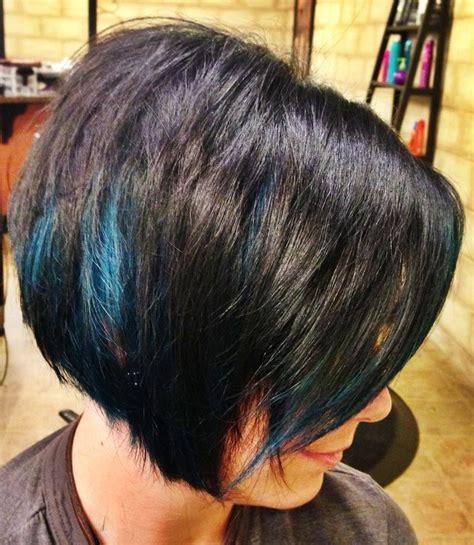 is streaking still popular on hair 25 best ideas about blue hair streaks on pinterest