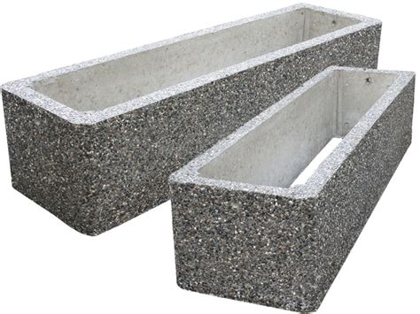 Large Concrete Planter by Large Commercial Concrete Planters Eagle West Precast