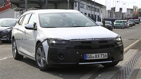 Opel Insignia Facelift 2020 by 2020 Opel Insignia Sports Tourer Facelift Spied For The