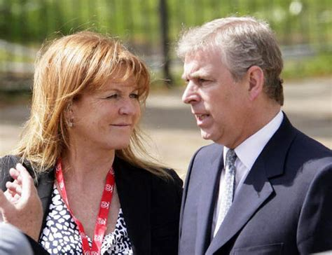 The Saraf Prince ferguson and prince andrew never really left each