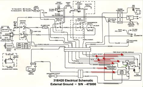 for deere 1050 tractor wiring diagram wiring