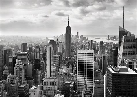 new york city skyline wallpaper black and white image gallery nyc black and white