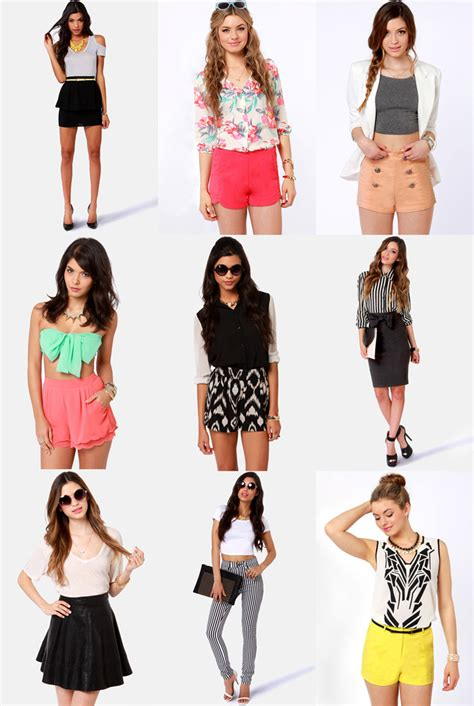 Hw Highwaist 2 how to wear high waisted shorts and skirts lulus fashion