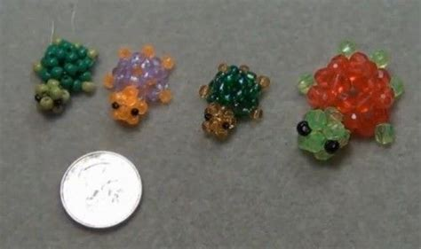 3d beaded animals tutorial 3d beaded turtle ring tutorial bead bugs animals etc