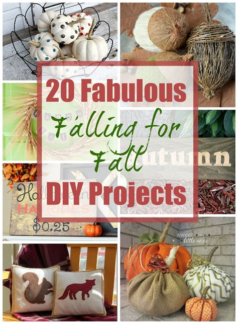 diy fall decorating projects 20 fab diy fall decor projects the happy housie