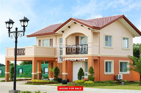 camella homes design with floor plan camella vista city philippines house and lot for sale in